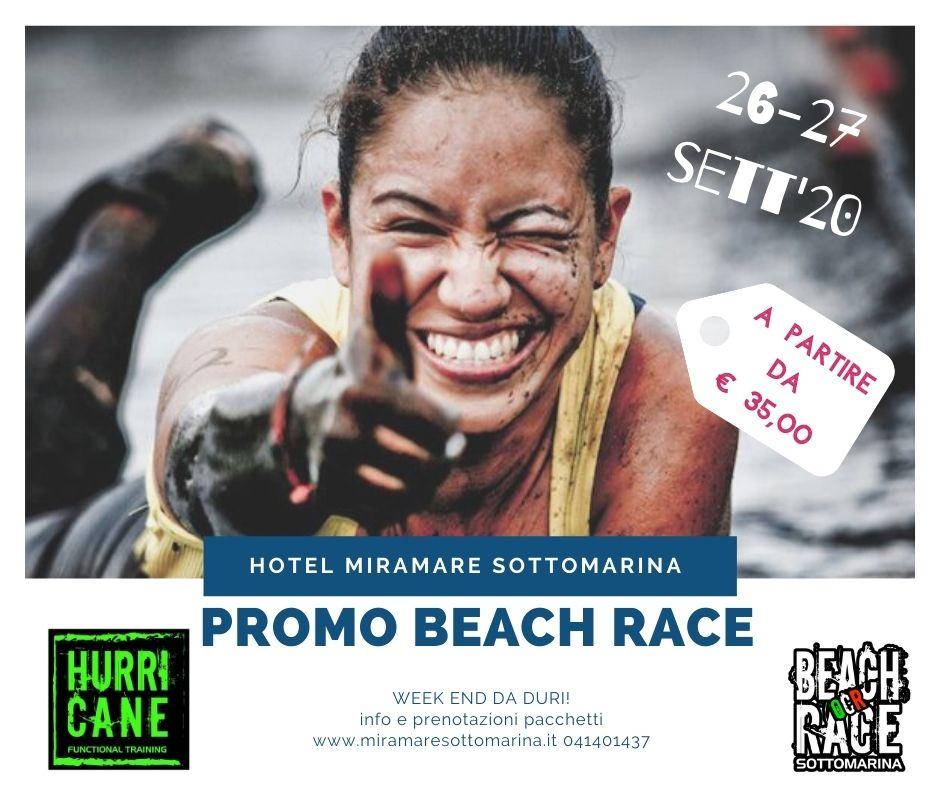 beach race sottomarina spartan style